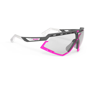 Rudy Project Defender Occhiali, pyombo matte/fuxia - impactx photochromic 2 black
